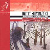 Shostakovich: Violin Sonata, Op 134, etc / Grubert, Tropp