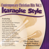 Karaoke: Contemporary Christian Hits, Vol. 1: Karaoke Style