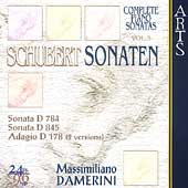 Schubert: Piano Sonatas Vol 5 / Massimiliano Damerini