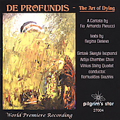 Pierlucci: De Profundis / Grazinis, Aidija Chamber Choir