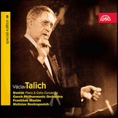 Vaclav Talich Special Edition Vol 5 -Dvor&#225;k / Rostropovich