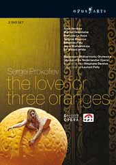 Prokofiev: Love for Three Oranges, opera / Deneve/Rotterdam PO, Vernhes, Defontaine, Le Roux [2 DVD]
