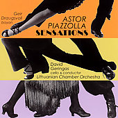 Sensations - Music Of Piazzolla / Geir Draugsvoll, Bayan / David Geringas, Cello & Cond. / Lithuanian Chamber Orchestra