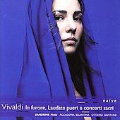 Vivaldi: In furore e concerti sacri / Dantone, et al