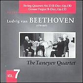 Beethoven: String Quartets Vol 7 / Taneyev Quartet