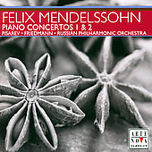 Mendelssohn: Piano Concertos, etc / Pisarev, Friedmann