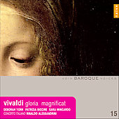 Vivaldi: Gloria, Magnificat, etc / Alessandrini, York, et al