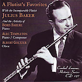 A Flutist's Favorites - Bach, Mozart, etc / Baker, et al