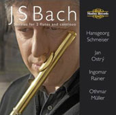 Bach: Sonatas for 2 Flutes & Continuo / Schmeiser, Ostry, et al