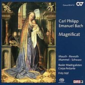 C.P.E. Bach: Magnificat Works / N&auml;f, Mauch, Schwarz, L'Arpa Festante, et al