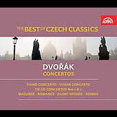 The Best of Czech Classics - Dvorak: Concertos / Suk, Hudecek, Moravec, Sadlo, Belohlavek, Newumann, Czech PO