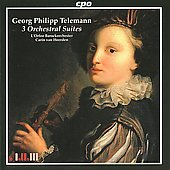 Telemann: 3 Orchestral Suites / van Heerden, L'Orfeo Baroque Orchestra