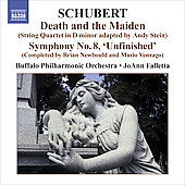 Schubert: Death and the Maiden D 810, Symphony no 8 [Completed] / Falletta, Buffalo PO