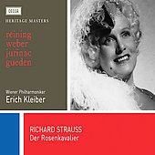 R. Strauss: Der Rosenkavalier / Kleiber, Reining, Gueden, Jurinac, Weber, Poell, Dermota, et al