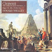 Clementi: Complete Piano Sonatas Vol 3 / Howard Shelley