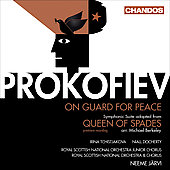 Prokofiev: On Guard for Peace, Queen of Spades Suite / J&auml;rvi, Royal Scottish National Orchestra, et al
