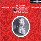 Mozart: Symphonies No. 35 & No. 39 / Szell