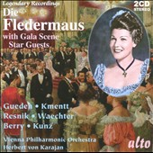 J. Strauss: Die Fledermaus: Complete Opera Plus Bonus Gala Scene / Gueden, Kmentt, Koth, Berry, Waechter