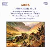 Grieg: Piano Music Vol 4 / Einar Steen-Nökleberg