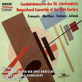 Harpsichord Concertos of the 20th Century / Eva Braito