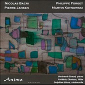 French Chamber Music for Flute, Cello & Piano / Bertrand Giraud, piano; Frederic Chatoux, flute; Delphine Biron, cello