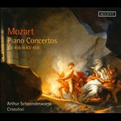 Mozart: Piano Concertos, KV 456 & KV 459 / Arthur Schooderwoerd, piano