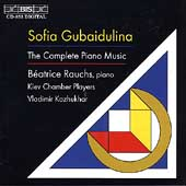 Gubaidulina: The Complete Piano Music / Béatrice Rauchs