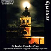 Sonority / Gary Graden, St. Jacob's Chamber Choir
