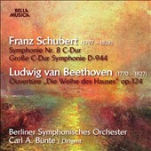 Schubert: Symphony no 8; Beethoven: Consecration of the House, overture / Berlin SO