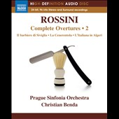 Rossini: Complete Overtures, Vol. 2 / Prague Sinfonia Orch. [Blu-ray audio]