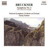 Bruckner: Symphony no 2 / Tintner, Ireland National SO