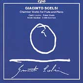 Scelsi: Chamber Works for Flute and Piano / Levine, et al