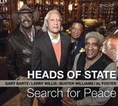 Heads of State: Search for Peace [Digipak]
