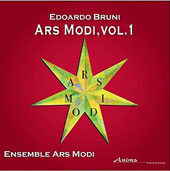 Edoardo Bruni (b.1975): Ars Modi, Vol. 1 - Chamber Music with Piano / Ensemble Ars Modi