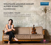Mozart, Alfred Schnittke (1934-1998): Chamber Music / Maia Cabeza, violin; Jose Gallardo, piano; Liga Skride, harpsichord; Ensemble of the L. Mozart Centre of Augsburg University, Dirk Kaftan