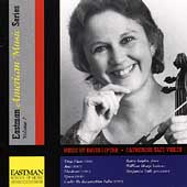 Eastman American Music Series Vol 7 - Liptak: Violin Music