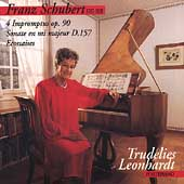 Schubert: 4 Impromptus Op 90, etc / Trudelies Leonhardt