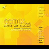CCMIX Paris - Xenakis UPIC Continuum - Risset, Roads, et al