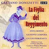 Donizetti: La Figlia del Reggimento / Mannino, Moffo, et al