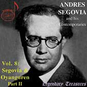 Legendary Treasures - Segovia and his Contemporaries Vol 8