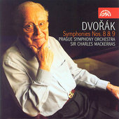Dvor&#225;k: Symphonies no 8 & 9 / Mackerras, Prague SO