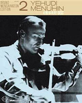 Bruno Monsaingeon Edition, Vol 2 - Yehudi Menuhin [4 Blu-ray]