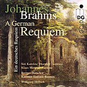 Brahms: A German Requiem / Helbich, Thornhill, et al