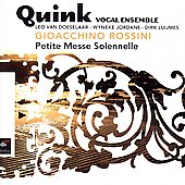Rossini: Petite Messe Solennelle / Quink Vocal Ensemble