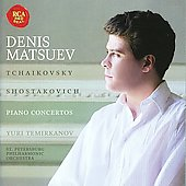 Tchaikovsky, Shostakovich: Piano Concertos / Matsuev