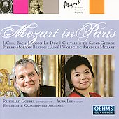 Mozart in Paris - J.C. Bach, etc / Goebel, Lee, et al