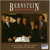 Bernstein: Arias & Barcarolles, etc / Kaye, Sharp
