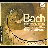 Bach: Brandenburg Concertos / Egarr, Academy of Ancient Music