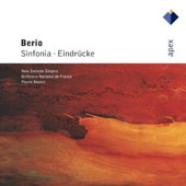 Berio: Sinfornia; Eindr&uuml;cke