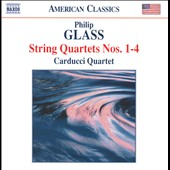 Glass: String Quartets Nos. 1-4
